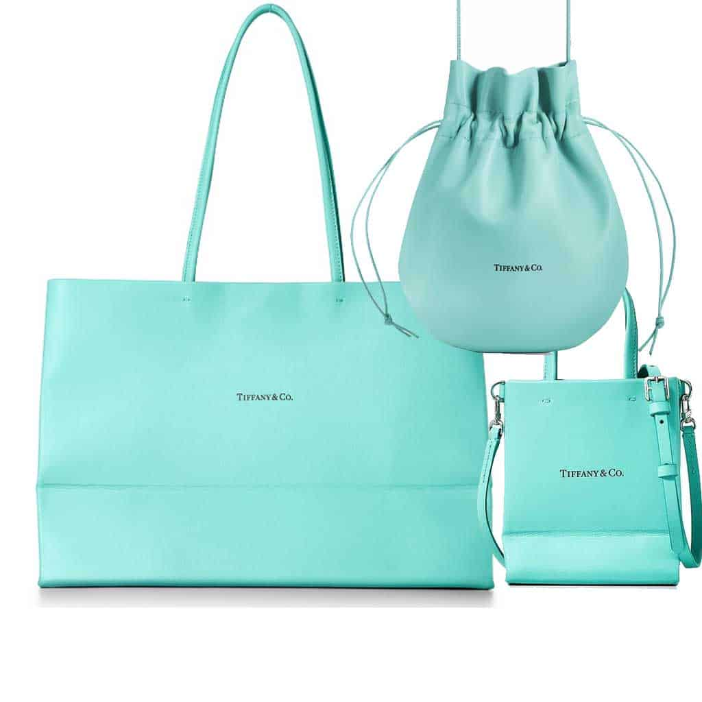 Gli iconici sacchetti regalo di Tiffany & Co