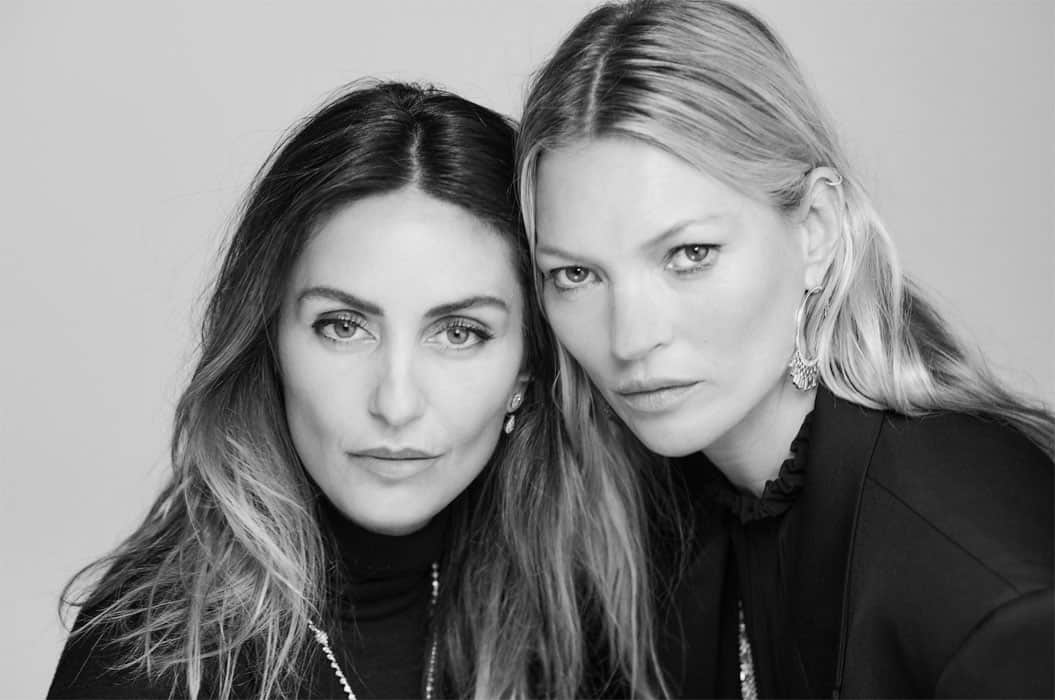 VALERIE MESSIKA & KATE MOSS BY CHRIS COLLS