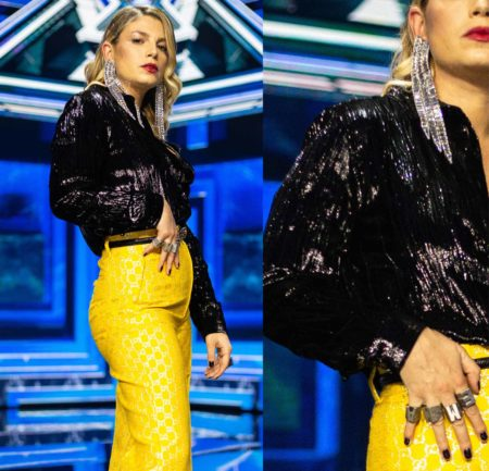 Emma Marrone in Gucci