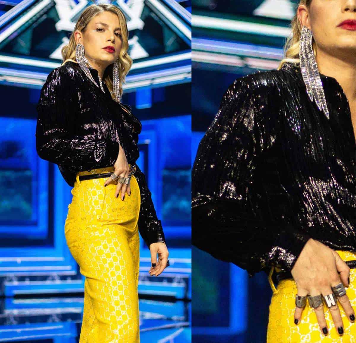 Emma Marrone in Gucci