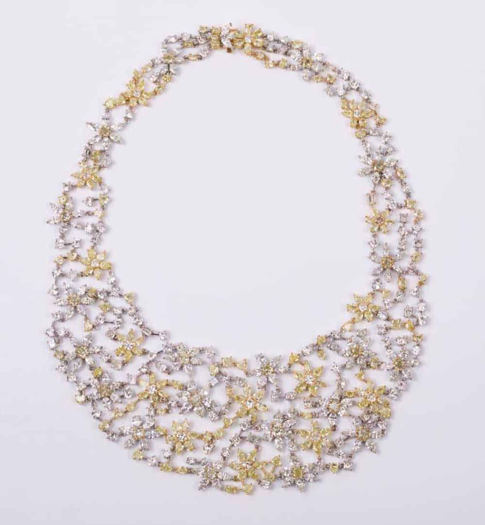 collana tempestata di diamanti della gioielleria israeliana House of R&D