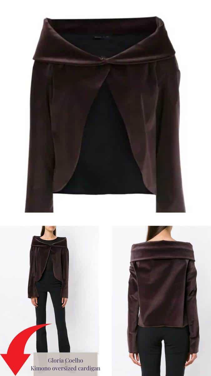 Gloria Coelho Kimono oversized cardigan