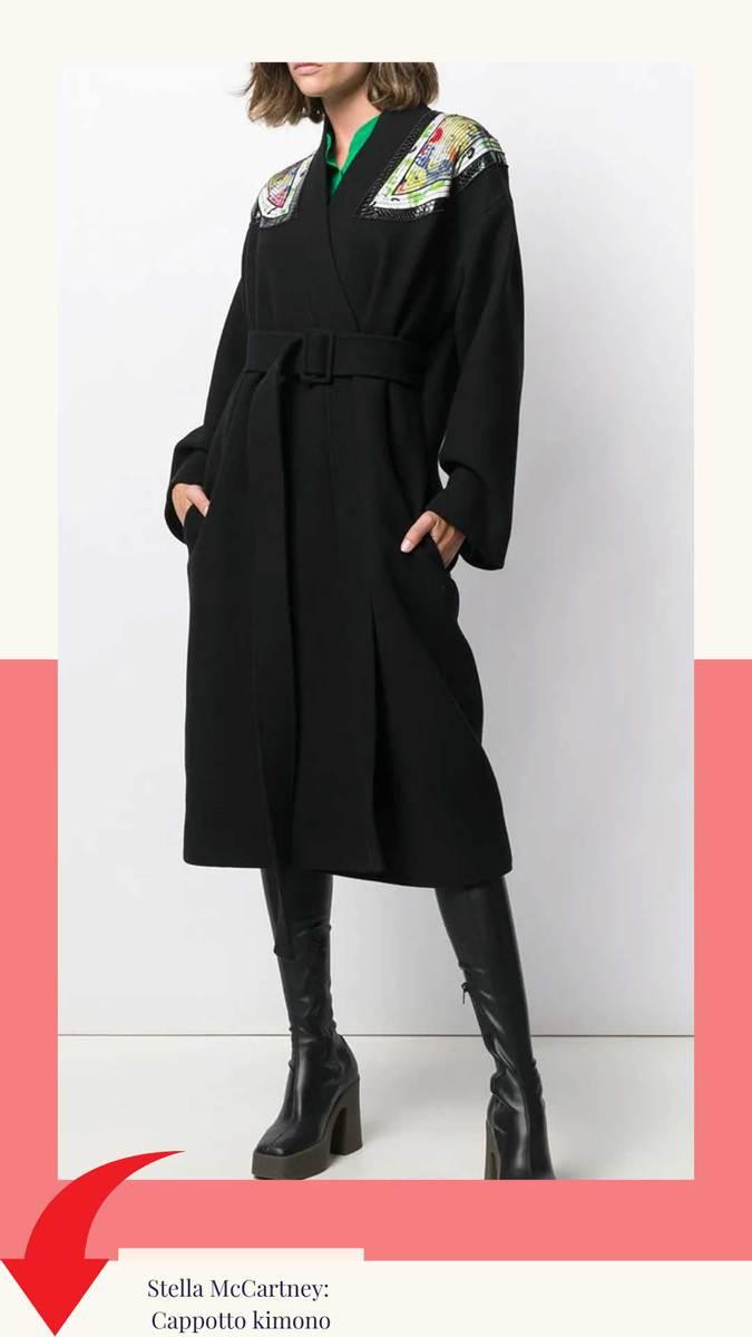 Stella McCartney: Cappotto kimono