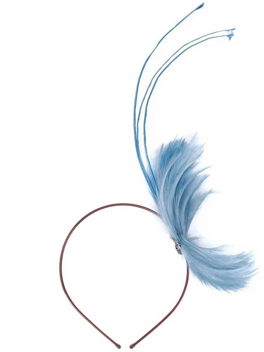 Emilio Pucci - Cerchietto con decorazione di piume