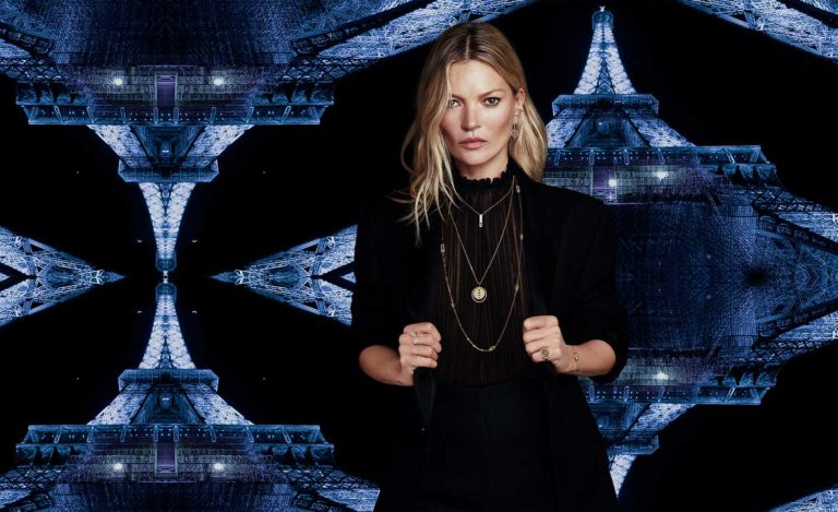 Kate Moss e Messika - la seconda collaborazione