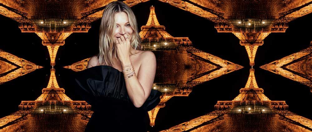 Kate Moss e Messika - la seconda collaborazione