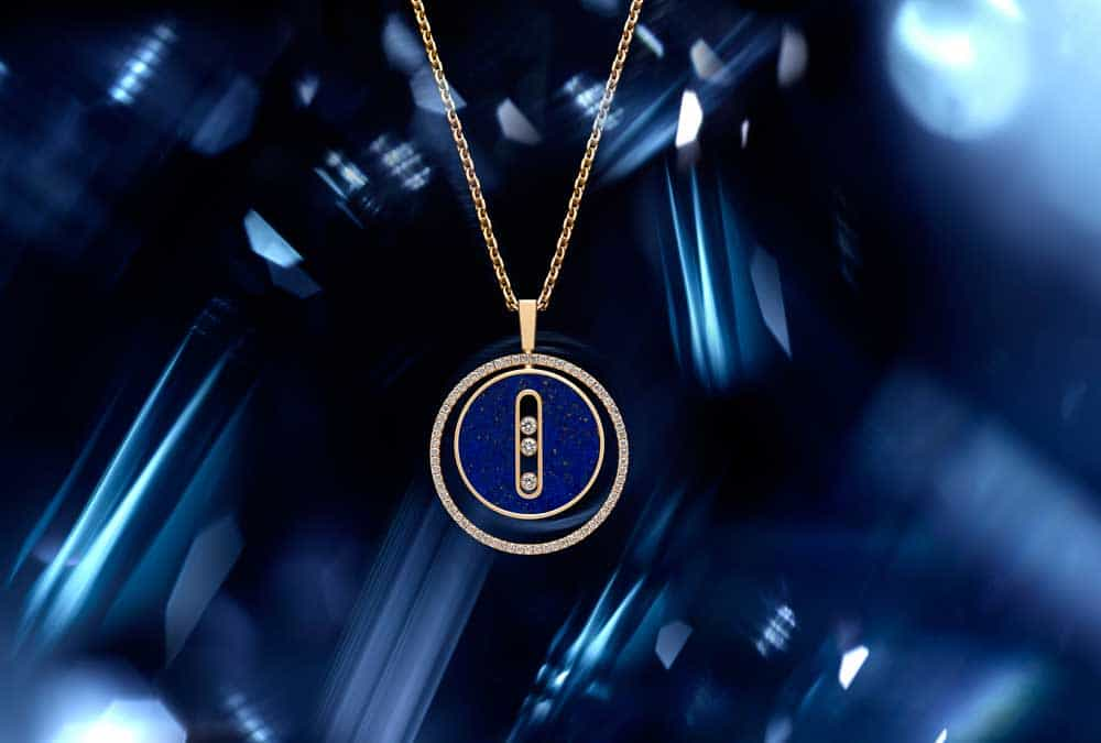 Messika Paris: il Collier-Lucky Move con Lapis Lazuli by-Isabelle-Bonjean
