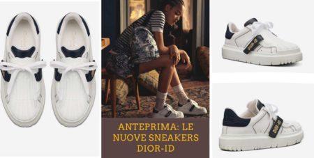 La nuova sneaker Dior ID