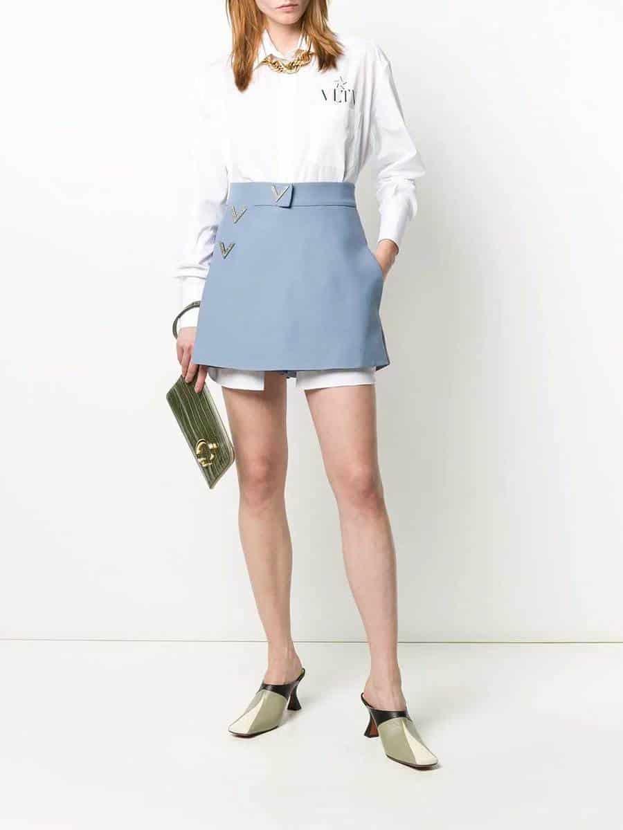 Valentino - Shorts con applicazioni