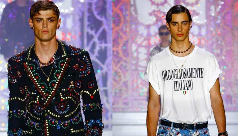 Dolce & Gabbana - sfilata pe 2022 -