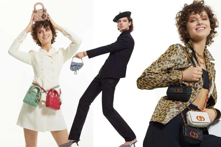 Le micro borse Dior per la PE 2021