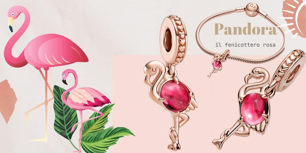 Pandora: Fascino tropicale. Fenicottero rosa