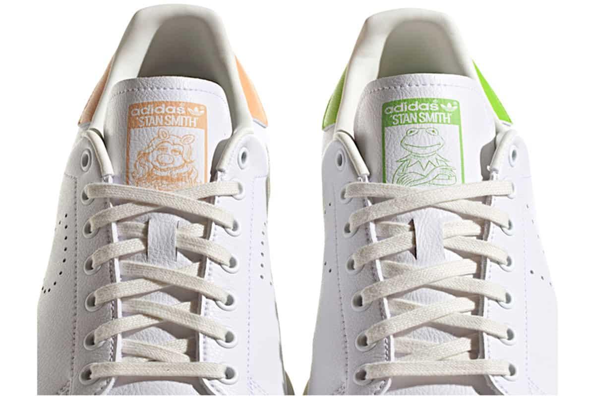 adidas stan smith miss piggy kermit sneakers