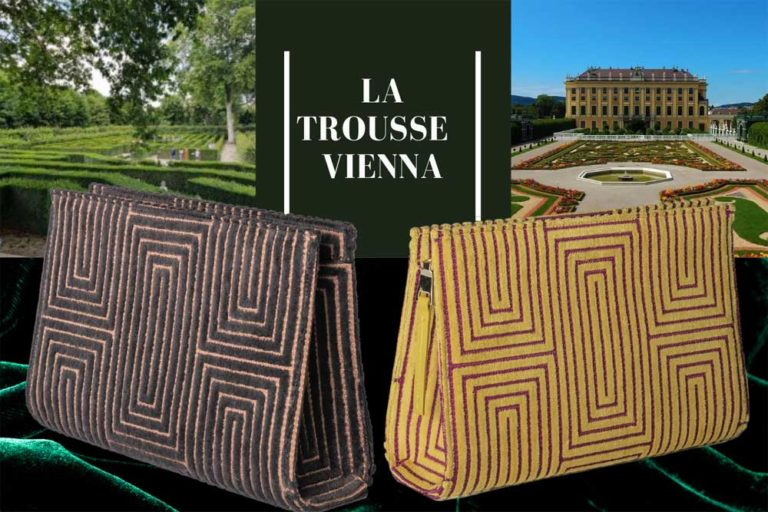 Vienna by Sonja Vizzini: trousse in velluto versatile e unisex