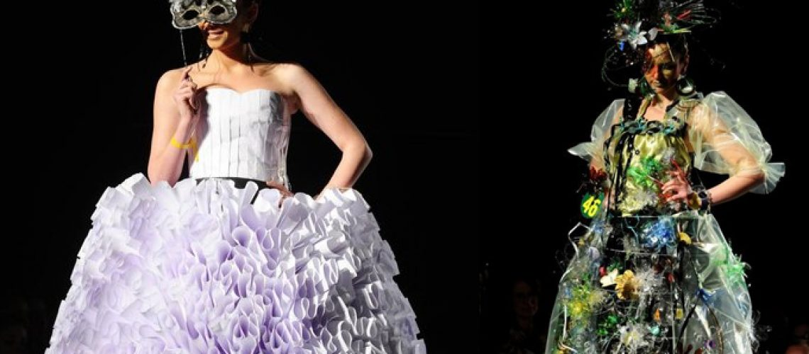 Skopje, in Macedonia, é andato in scena il Trash fashion show