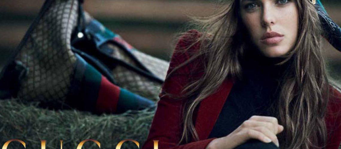 Charlotte Casiraghi volto di Gucci per 'FOREVER NOW'