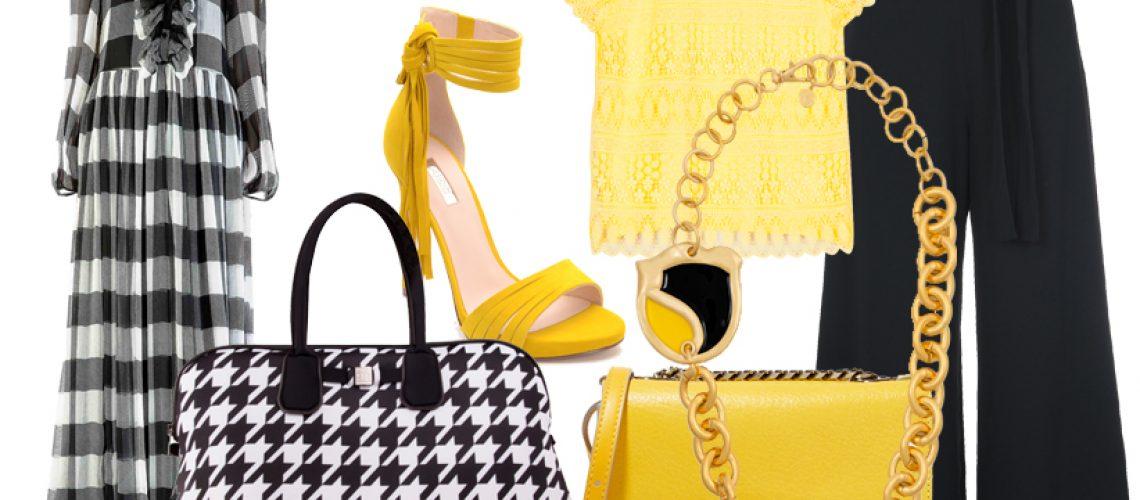 il trend giallo+nero